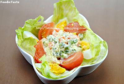 สลัดมาซิโดเนีย Macedonian Salad