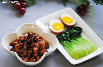 ��ٵ������ѹ (Taiwanese braised pork)