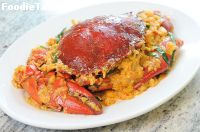 �ټѴ�������� (Stir-Fried Crab in Curry Powder)
