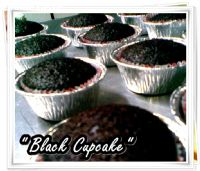 Dicery's Black Cupcake