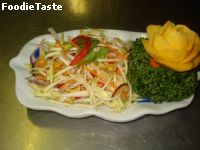 ������ǧʴ (Spicy mango salad)