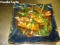 ��駾�ԡ�´� (Tiger Prawn With Black pepper Sauce)