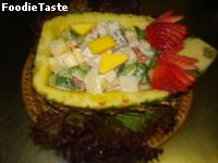 �ٵ���Ѵ������Դ�� (Chicken Florida Salad)
