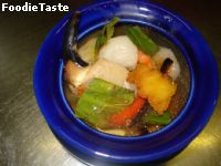 �����駷��� (Tom kong Talay / seafood spicy soup)