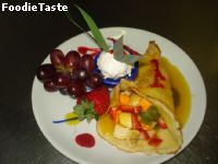 �û �����������ʴ (Crepe Suzette with Fresh Fruit)