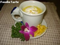 �����ػ����⾴  (Corn Cream Soup)