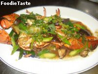 ����ѧ�����¹���ᴧ (Lobster in Chinese red sauce)