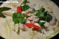 �������� Thai Chicken Soup in Coconut Milk