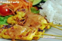 ������� Classic Thai Chicken Satay