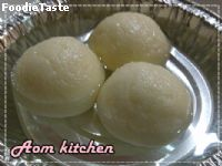 rasgulla ( indian sweet )  -  ��ʡ���� ( �����ҹ�Թ��� )