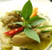 Green curry with chicken    ᡧ������ҹ��