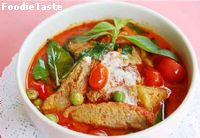 Red curry with roasted duck  ᡧ������ҧ