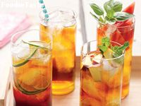 �Ҿժ (Peach and Mint Iced Tea)