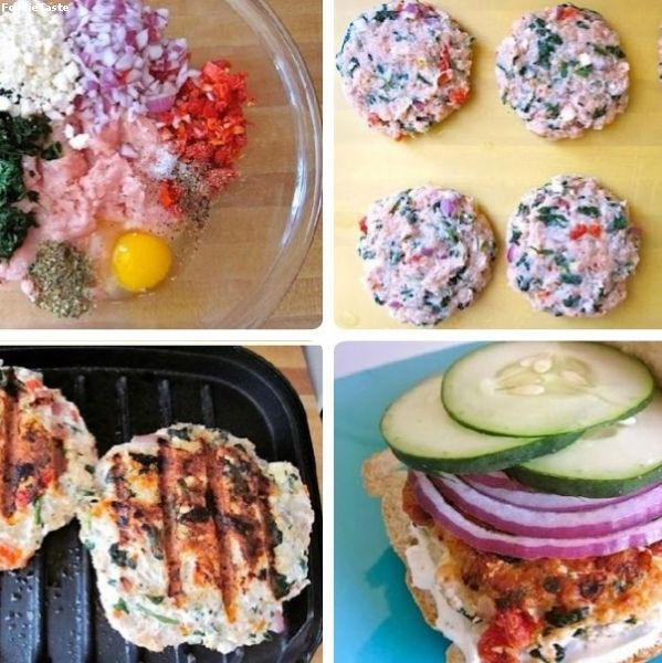 ����������� - DIY Chicken Burger