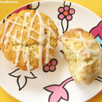 ���͹ ���紻�ͺ��� �Ѿ�� (Lemon Poppy Seed Cupcakes)