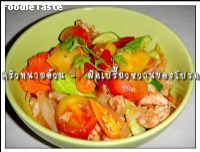 �Ѵ��������ҹ�ҹ�ô (My favorite stir fried sweet and sour)