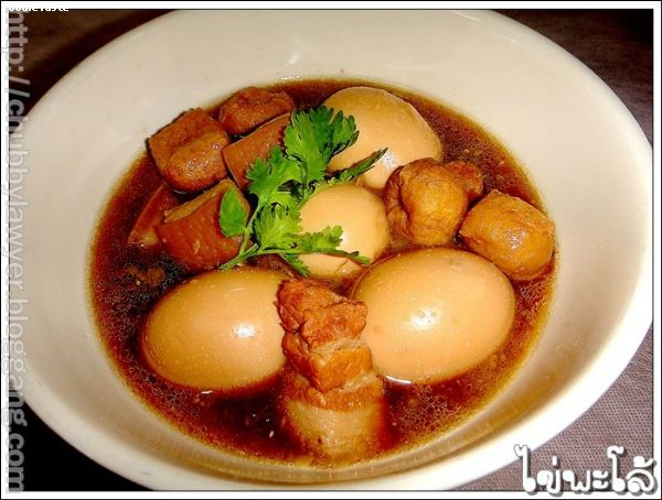 ������ (Kai Pa �low: Boiled egg in brown soup)