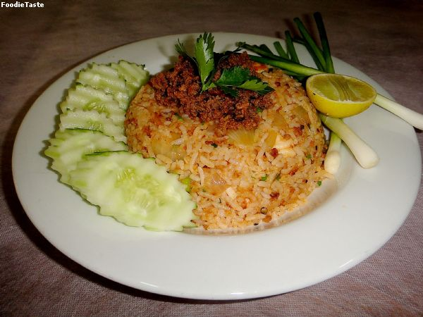 ���ǼѴ�Ѻ���š�� (Double shrimps fried rice)
