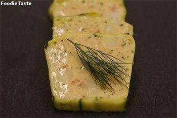 Mousseline Terrine เทอร์รีนชนิดเนื้อเนียน มักนิยมเช่น ทำจากตับเป็ด,แซลมอน