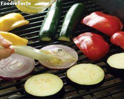 วิธีการย่างผัก