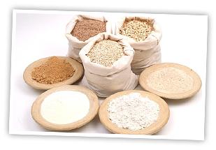 Types of Flour แป้งสำหรับใช้ทำเบเกอร์รี่ หรือขนมอบ